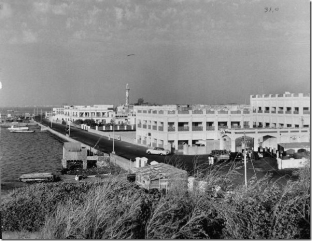 أحد الواجهات البحرية لمدينة المنامة