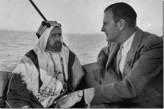 اجتماع بين بلغريف وسلمان بن حمد على ظهر قارب في عرض البحر