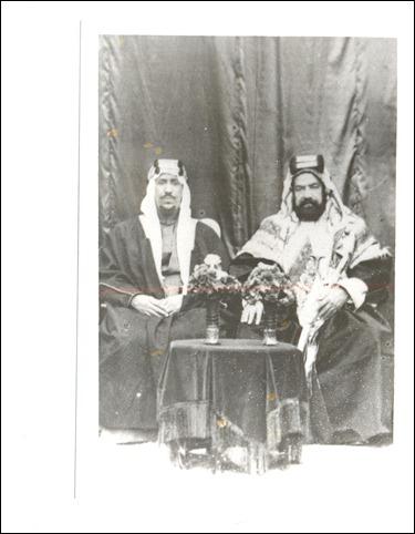 -الشيخ حمد بن عيسى وولي العهد الأمير سعود بن عبد العزيز 193